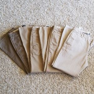 4 pairs of BR Gavin chinos 30x30